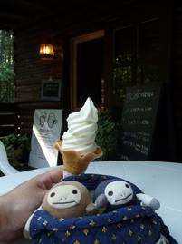 牛乳屋さんのソフトクリーム