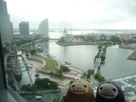 横浜 宿からの眺め3