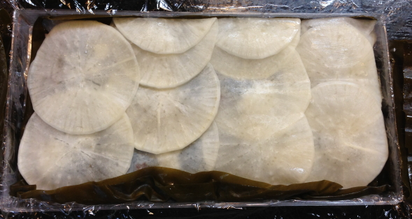 鯛と大根塩麹