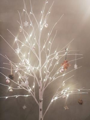クリスマスセール クリスマスツリー 白いクリスマスツリー インテリア雑貨や カフェ オーナメント キラキラ 輸入雑貨 カフェ アンティーク
