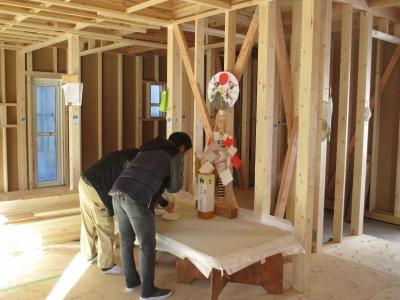上棟式 顔合わせ式 藤枝 新築 建築 木造 在来工法 祭壇