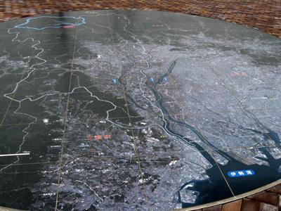 徳山ダム・水系地図
