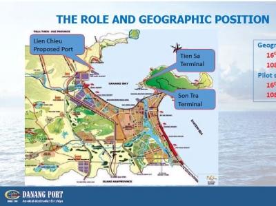 ダナン港 地図