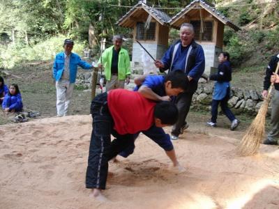 水神祭子供相撲