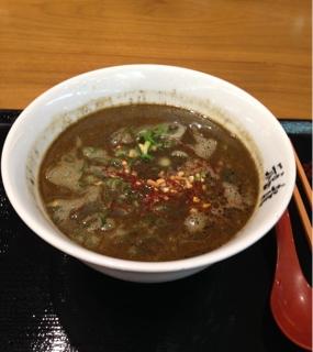 福龍 黒胡麻坦々麺