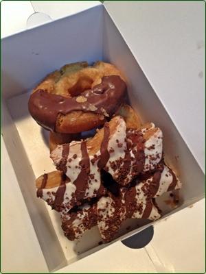 デイリーヤマザキのドーナツ