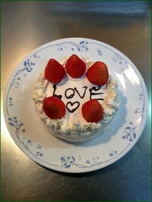 自作ケーキ2016