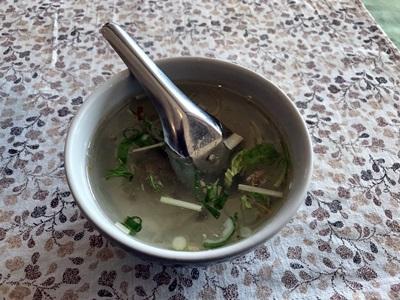 タイ料理 サワディー  スープ