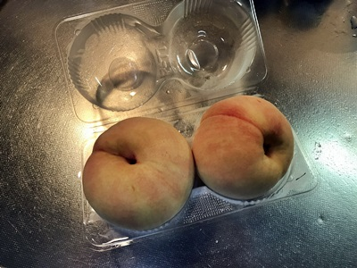 岡山の白桃