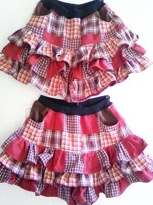 オリカさんのスカート