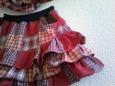 オリカさんのスカート2