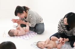 盛岡 カジュアルフォトスタジオ フォトプラス 撮影 イベント ベビーマッサージ 撮影会