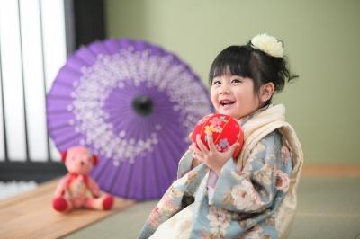 フォトプラス 盛岡 スタジオ 写真 撮影 七五三 キャンペーン 女の子