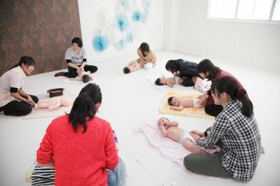 フォトプラス 盛岡 撮影 写真 ベビーマッサージ イベント ママトコ