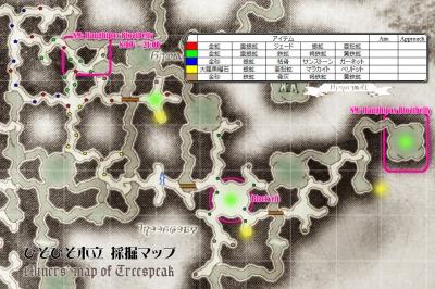 ひそひそ採掘マップ(仮)