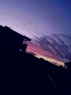 杉並の夕焼け