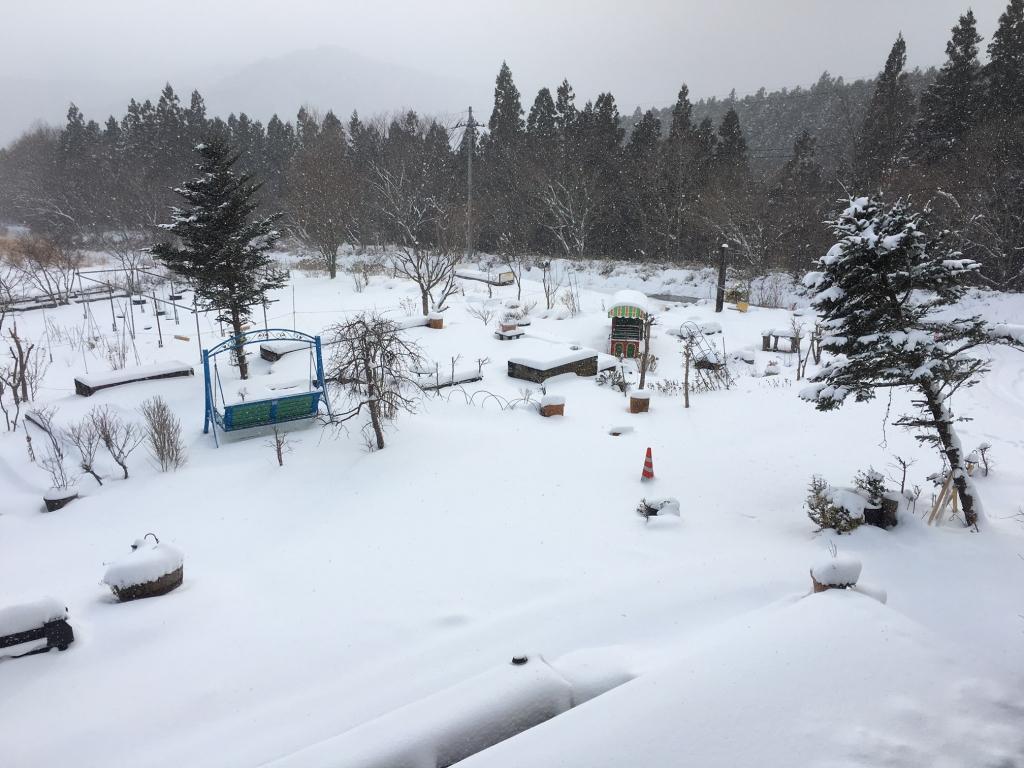 「風だより」雪景色(2018.1.3)