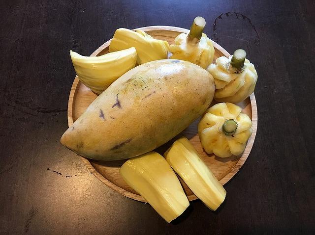 �黄色御三家/マンゴー・パイナップル・ジャックフルーツ