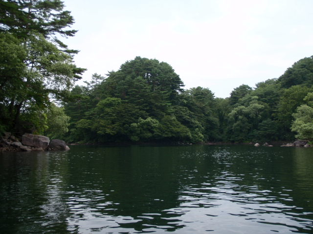 free spool 桧原湖カヌー体験