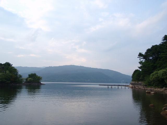free spool 桧原湖