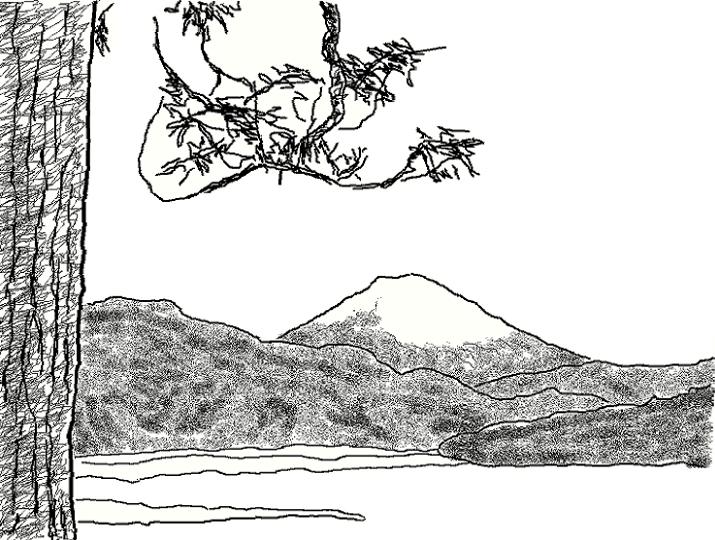 「父ありき」芦ノ湖
