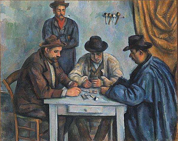 カード遊びをする人々 2