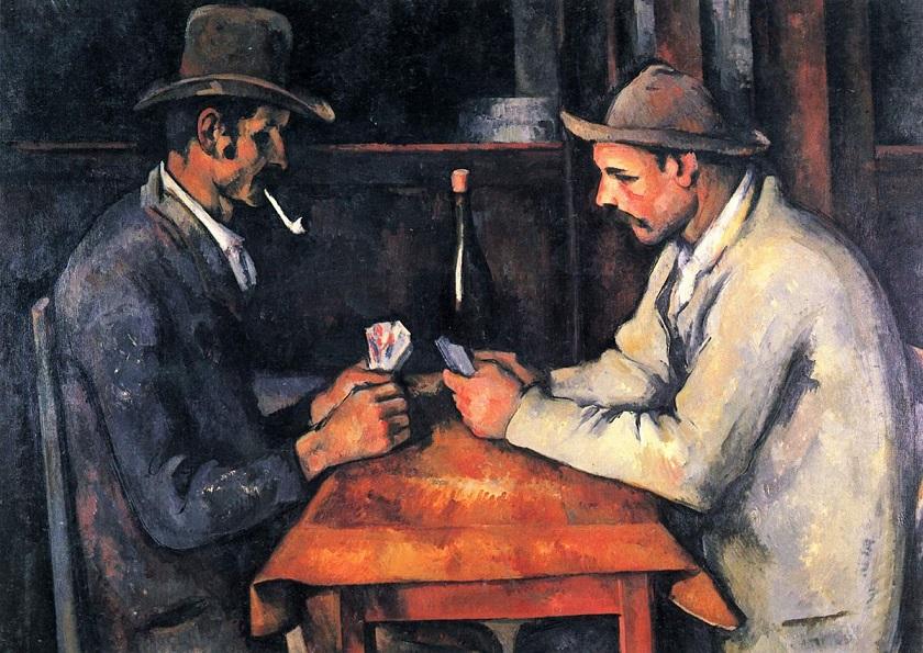カード遊びをする人々 3
