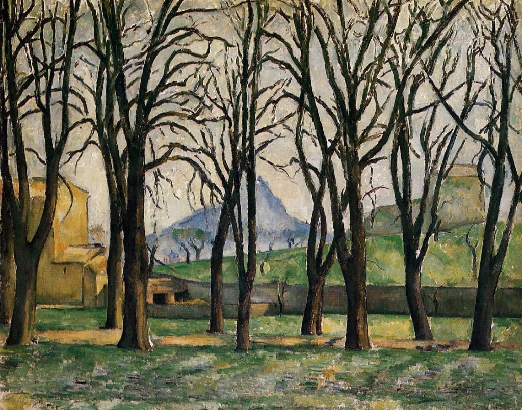 ジャ・ド・ブーファンのマロニエの並木