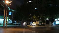 picture - 上海のあるT字路