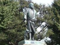 西郷さんの像