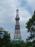 昼間のテレビ塔です