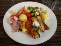 野菜の前菜ビュッフェ