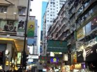テレビなどでも見かける香港の雑踏