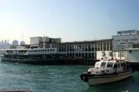 香港島と九龍島を結ぶスターフェリー
