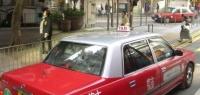 こちらが香港のタクシー