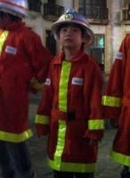 消防隊員のムーちゃん