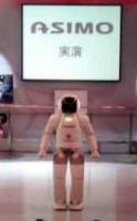 ASIMOの実演