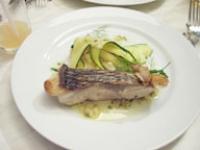メインのお魚料理