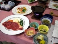 石焼ステーキ&小鉢いろいろ