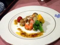魚介と野菜のソテー