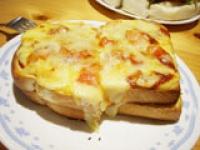 スクラングルエッグトーストは¥590