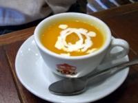 人参の冷製スープ