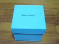 リボンなしの青いボックス