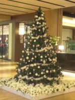 ミッドタウン館内のクリスマスツリー