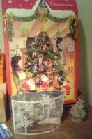 玄関先のクリスマスグッズ