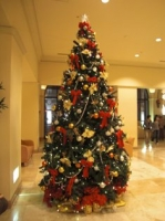 ホテルオークラ東京ベイのクリスマスツリー