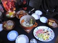 2008年のクリスマスディナー