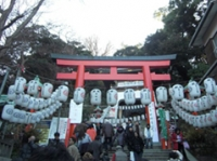 江島神社も大混雑