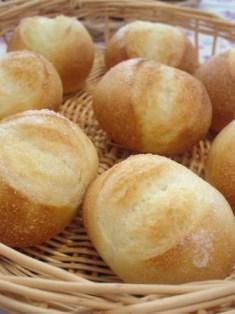 リーン生地丸パン