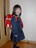 1年生の制服